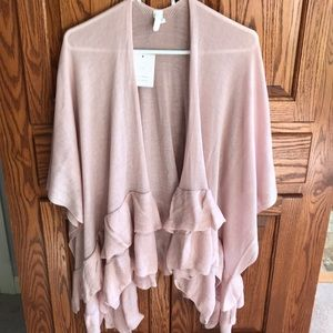 Lauren Conrad ruffled wrap